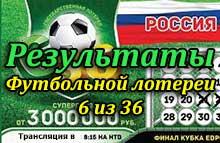 Футбольная лотерея 6 из 36 снов