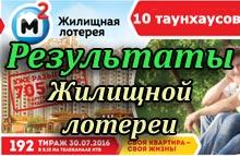 Государственная жилищная лотерея тираж 192