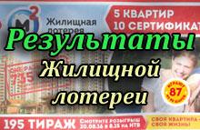Государственная жилищная лотерея тираж 195